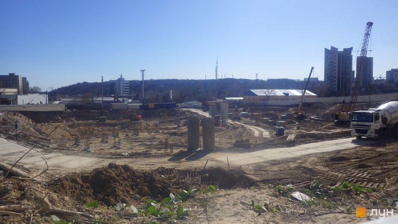 Ход строительства ЖК Fjord, , март 2020
