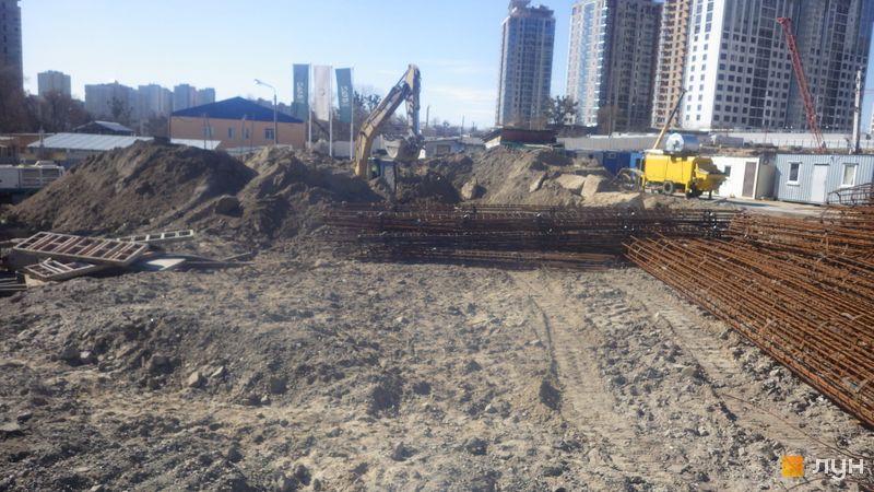 Ход строительства ЖК Delrey, , март 2020