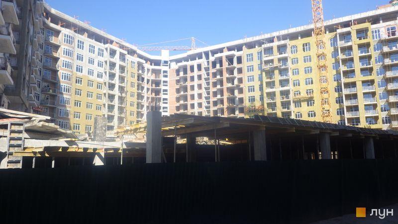 Хід будівництва ЖК 52 Перлина (Pechersk Plaza), 7 секція, березень 2020