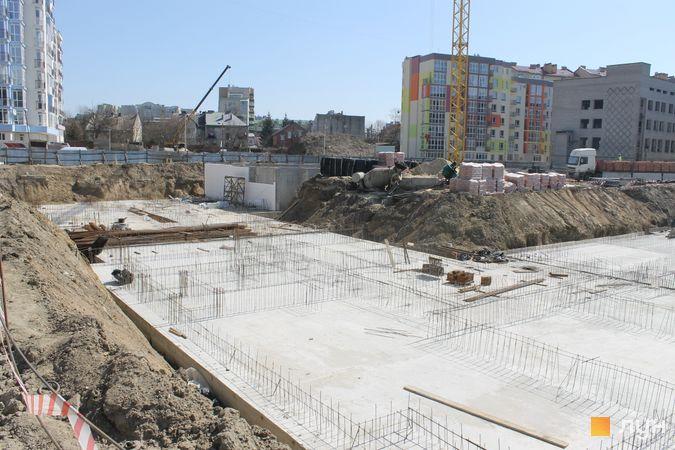 Ход строительства ЖК Шенген, 3-4 дома, апрель 2020