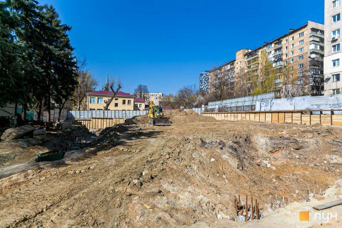 Ход строительства ЖК Washington Concept House, , апрель 2020