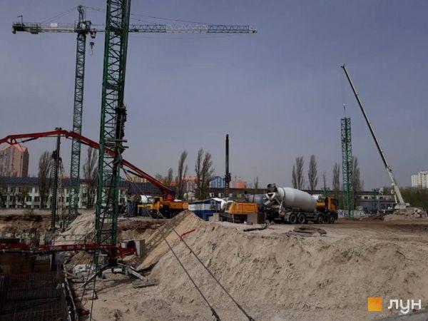 Ход строительства ЖК Star City, , апрель 2020