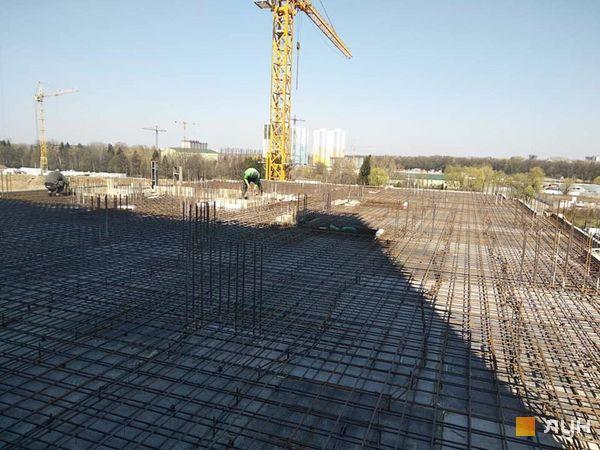 Ход строительства ЖК Новые Теремки, , апрель 2020