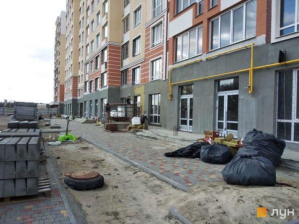 Ход строительства ЖК Новые Теремки, 2 очередь (дома 6-7), апрель 2020