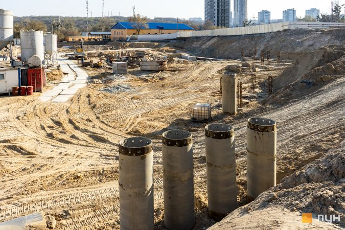 Ход строительства ЖК Fjord, , апрель 2020