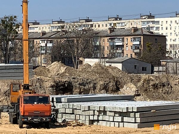 Хід будівництва ЖК Wellspring, , квітень 2020