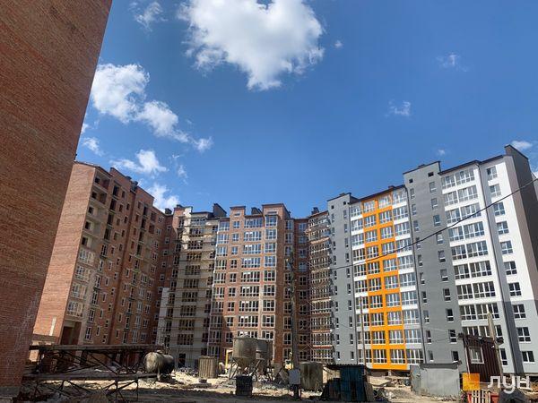 Ход строительства ЖК Квартал Галицкий, , апрель 2020