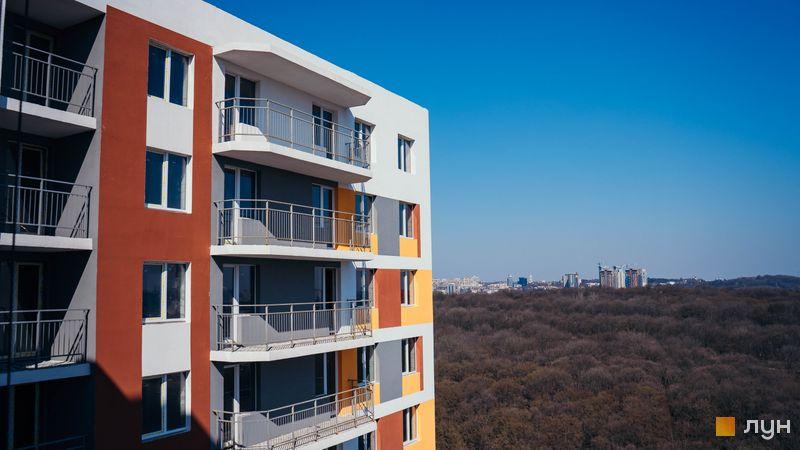 Хід будівництва ЖК Orange City, 1 будинок (секція 3), квітень 2020