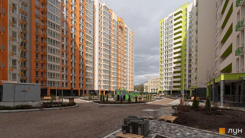 Хід будівництва ЖК Нивки-Парк, 5, 6 будинки, квітень 2020