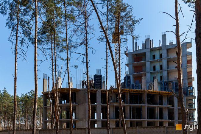 Хід будівництва ЖК На Прорізній 2, 1 будинок (секції 2-3), квітень 2020