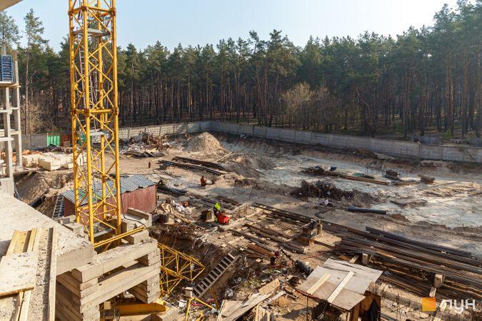 Хід будівництва ЖК На Прорізній 2, 2 будинок (секції 1-2), квітень 2020