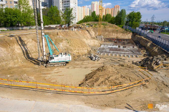 Хід будівництва ЖК POLARIS Home&Plaza, 2 будинок (секції 4.1, 3.3), травень 2020