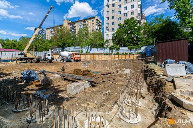 Ход строительства ЖК Washington Concept House, , май 2020