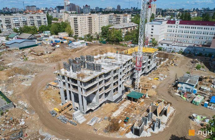 Хід будівництва ЖК OK'LAND, 2 дом, травень 2020