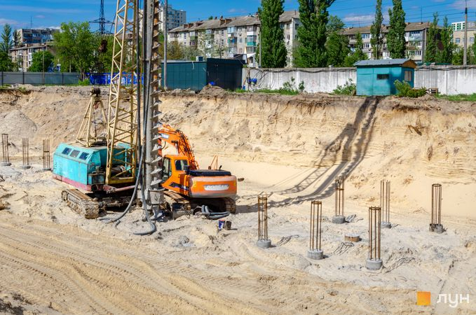 Ход строительства ЖК Star City, , май 2020