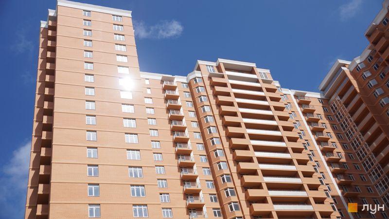 Хід будівництва ЖК Дмитріївський, 2 будинок (секції 1-2), травень 2020