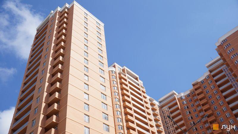Хід будівництва ЖК Дмитріївський, 2 будинок (секції 1-3), травень 2020