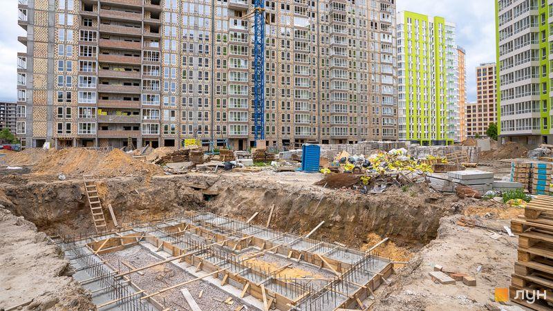 Хід будівництва ЖК Нивки-Парк, , травень 2020