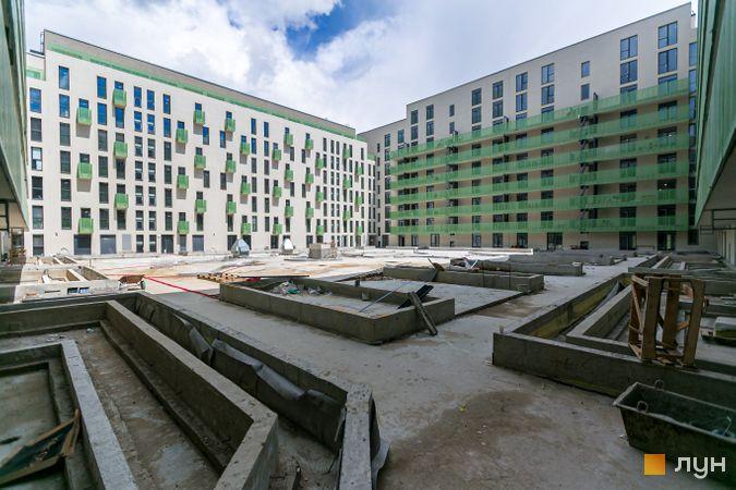 Хід будівництва Житловий район Rybalsky, 3 будинок, травень 2020