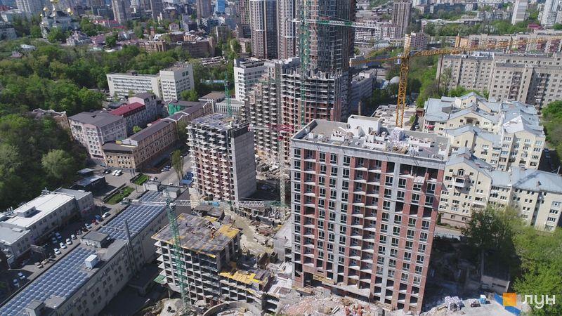Ход строительства ЖК Mirax, , май 2020