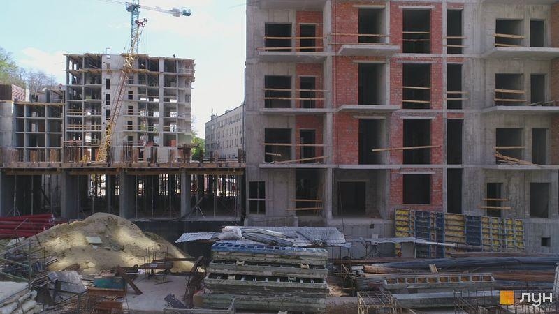 Ход строительства ЖК Mirax, 3, 4 дома, май 2020