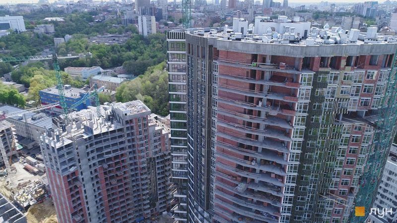 Ход строительства ЖК Mirax, 1, 2 дома, май 2020