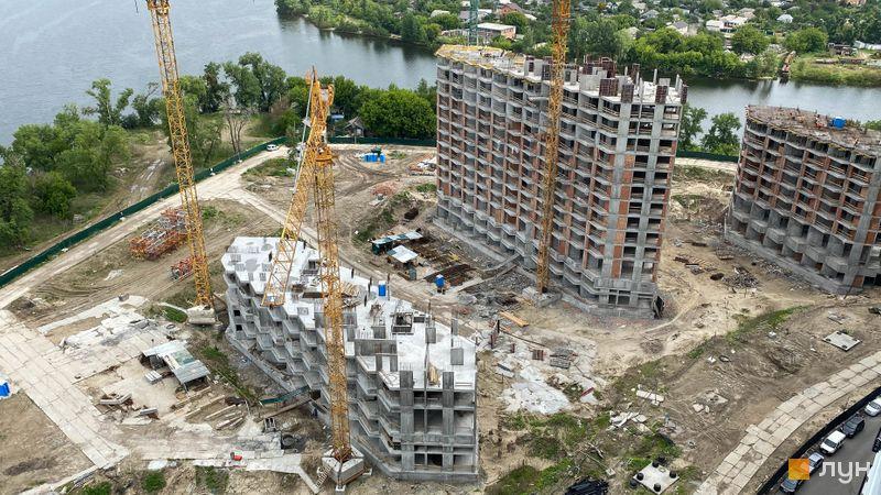 Ход строительства ЖК Заречный, 7-9 дома, май 2020