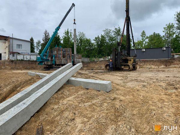 Хід будівництва ЖК Wellspring, , червень 2020