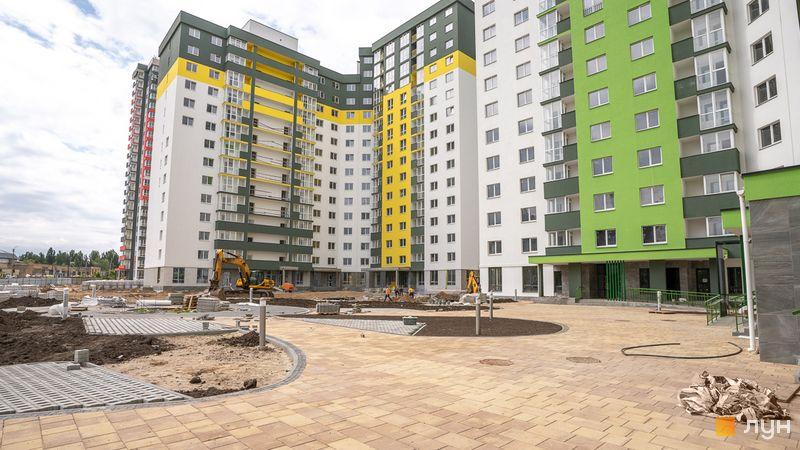 Хід будівництва ЖК Сирецькі сади, 3 будинок, травень 2020