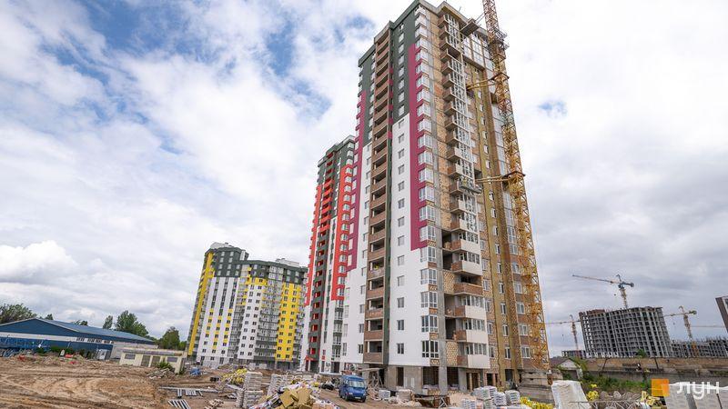 Хід будівництва ЖК Сирецькі сади, 3-5 будинки, травень 2020