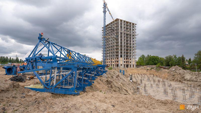 Хід будівництва ЖК Сирецькі сади, 7, 8 будинки, травень 2020