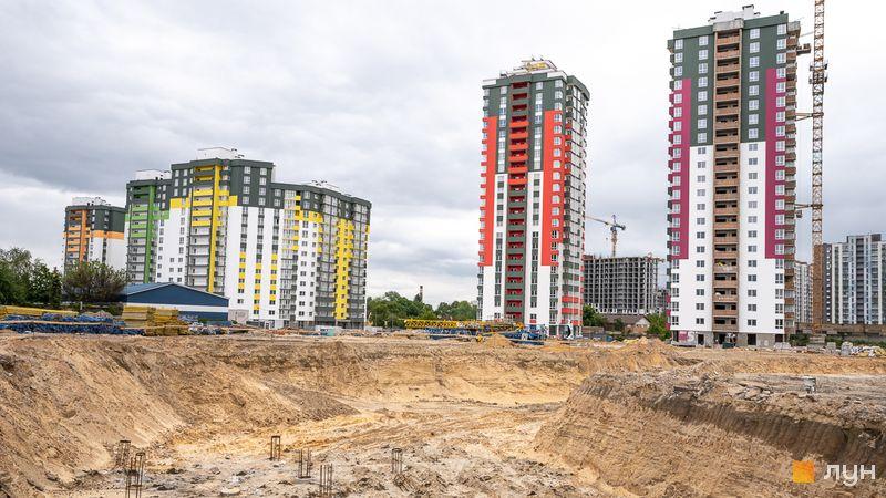 Хід будівництва ЖК Сирецькі сади, , травень 2020