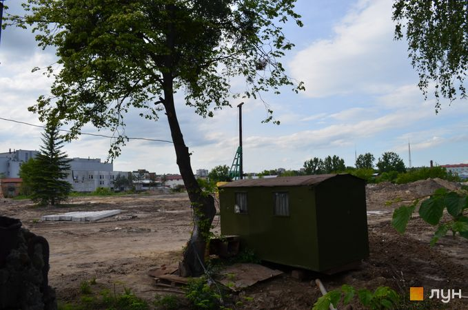Ход строительства ЖК Містечко Підзамче, , июнь 2020