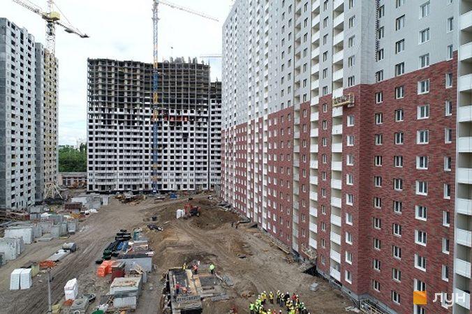 Ход строительства ЖК Navigator, , май 2020
