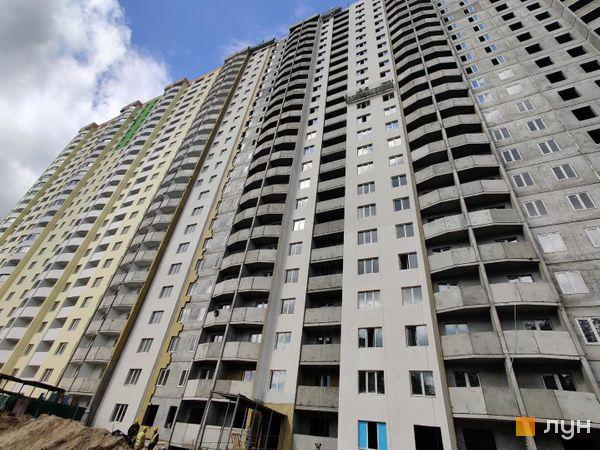 Хід будівництва ЖК Атлант (Коцюбинське), 9-11 будинки, травень 2020