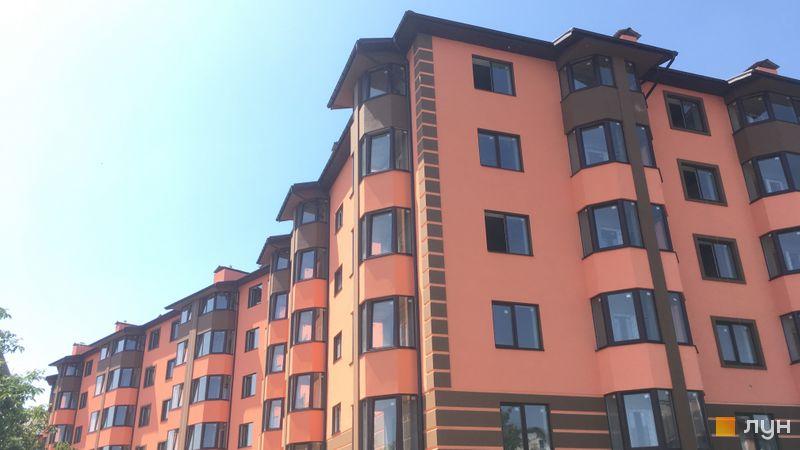 Хід будівництва Волошковий, 11 будинок, червень 2020