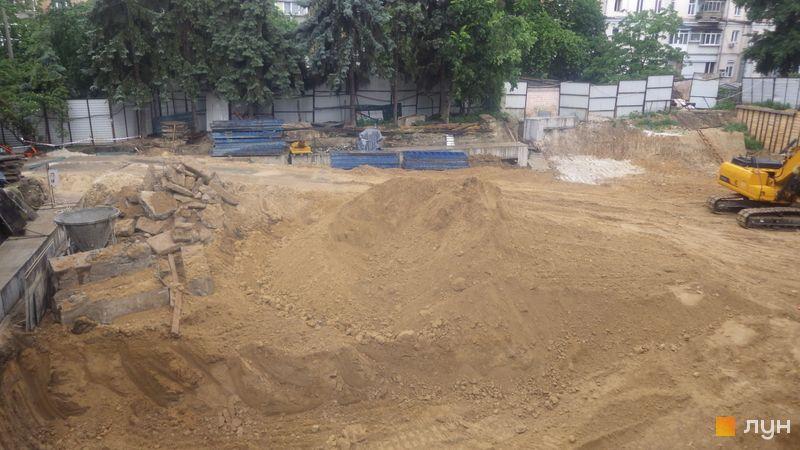 Ход строительства ЖК Washington Concept House, , июнь 2020