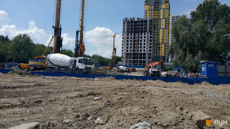 Хід будівництва ЖК Медовий-2, 2, 3 будинки, червень 2020