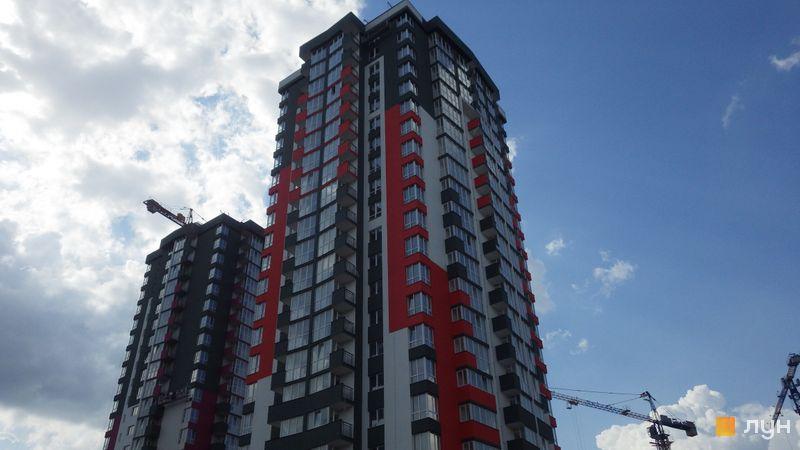 Хід будівництва ЖК Сирецькі сади, 4 будинок, червень 2020