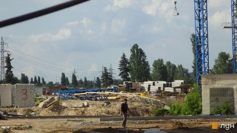 Хід будівництва ЖК Сирецькі сади, 6, 7 будинки, червень 2020