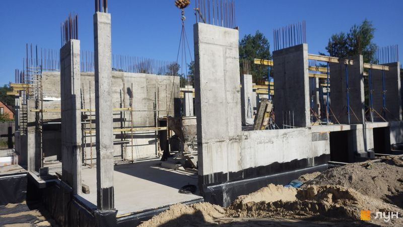 Хід будівництва ЖК Клубний будинок-2, Будинок, червень 2020