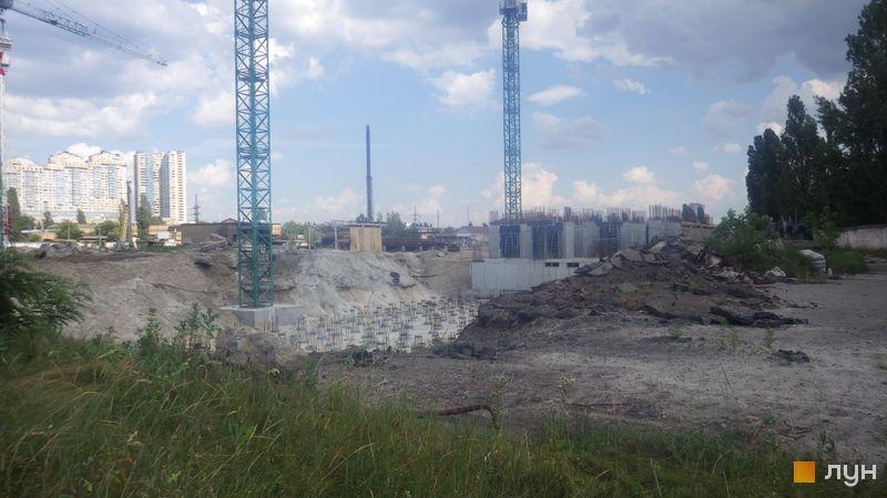 Ход строительства ЖК Star City, 1 дом, июнь 2020