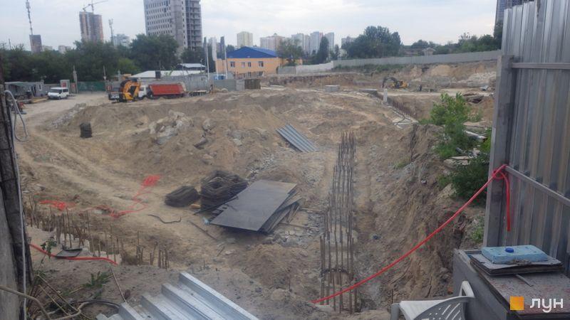 Ход строительства ЖК Delrey, , июнь 2020