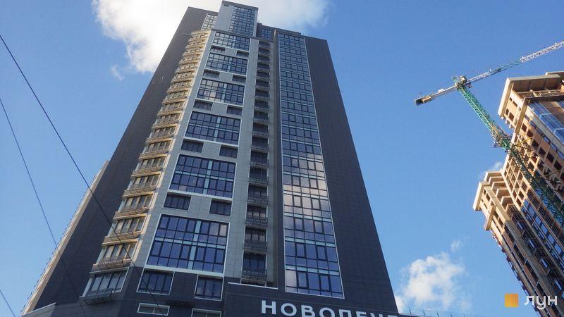 Ход строительства ЖК Новопечерська Вежа, Дом, июнь 2020