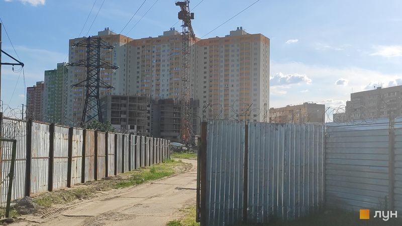 Хід будівництва ЖК Олімпійський, 9, 10, 11 будинки, червень 2020