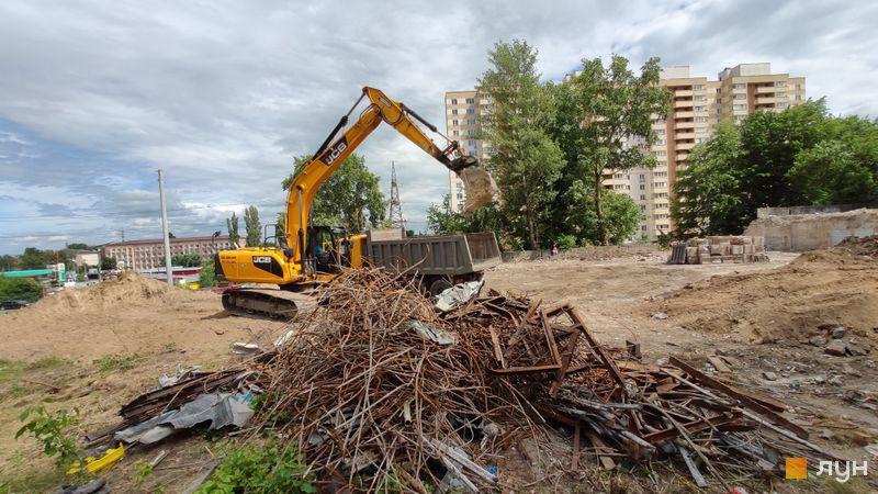 Хід будівництва ЖК Вишгород Плаза, , липень 2020