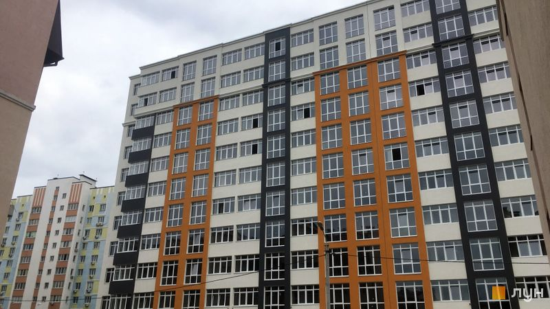 Хід будівництва ЖК Стожари, 3 будинок (секція 1), липень 2020