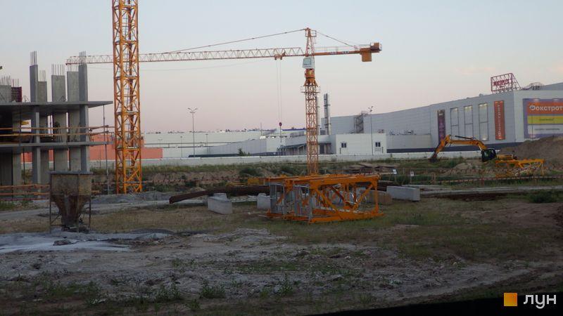 Ход строительства ЖК LUCKY LAND, , июль 2020
