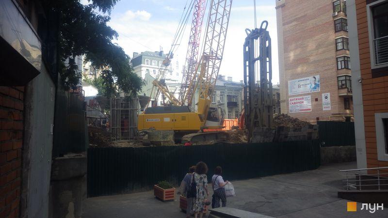 Хід будівництва ЖК Krauss Gallery, , липень 2020