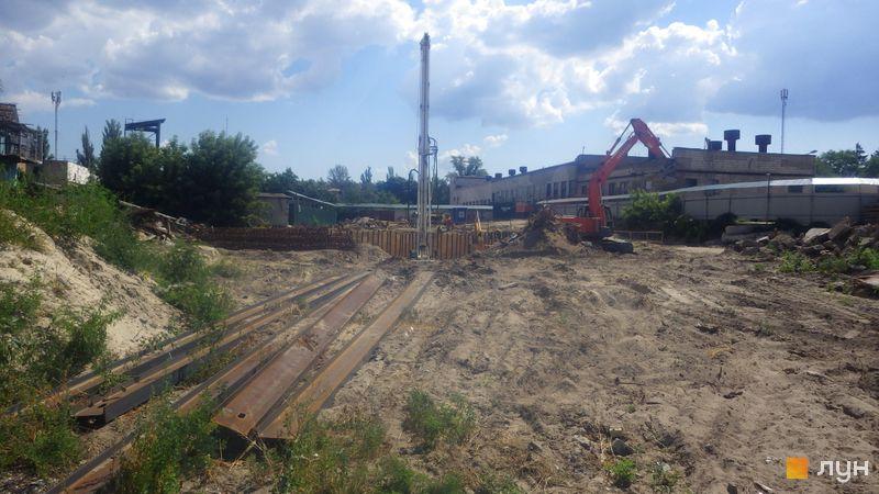 Хід будівництва ЖК Rusaniv Residence, , липень 2020